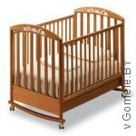 пустая  детская кроватка