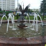 фонтан на Привокзальной площади