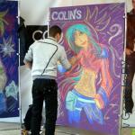 открытие магазина  Colin's