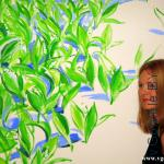 Ингрида Ирбе и её картина