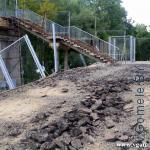 пешеходный мост через реку Сож в Гомеле