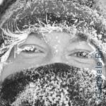 люди на морозе