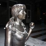 памятник студентке в Гомеле