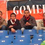 на стадионе в Питере, матч Зенит-Милан, 3 октября 2012 г. (Даниил Лабыч - второй