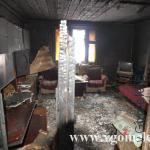 пожар в деревне Радков Петриковского района