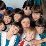 многодетная семья в Гомеле