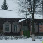типичный старый деревянный дом