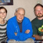 в гостях у Дмитрия Сухарева Вячеслав климович с супругой Гомель