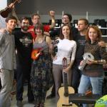 группа Romeira (Гомель), Матиас Ком (Канада), Дима Ску (Барановичи) и Иван Мороз