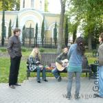 группа уличных музыкантов в Гомеле
