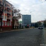 на улице Коммунаров в Гомеле