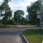 выход на новобелицкий пешеходный путепровод