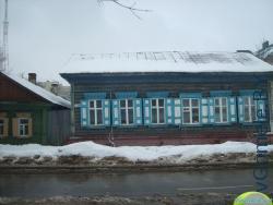 деревянный дом на ул. Карла Маркса