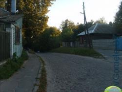 дореволюционная брусчатка на улице Толстого