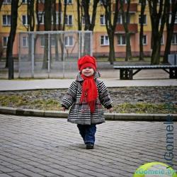 красная шапочка на улице Гомеля