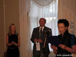 открытие выставки «Современное латвийское искусство»