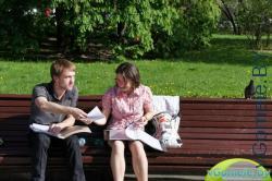 Виталий Борисок и Наталья Довматович