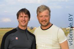 Игорь Анненков и Валдис Пельш