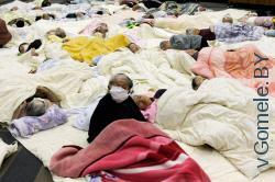 после землетрясения в Японии