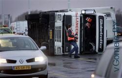 ураган в Европе