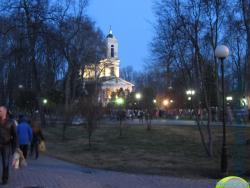 в Великую субботу у Петропавловского собора