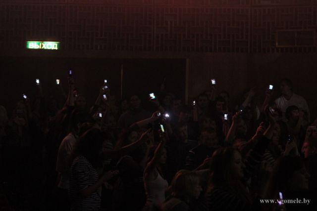 Свет мобильников