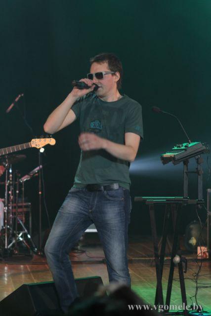 Юрий Рубаник на сцене